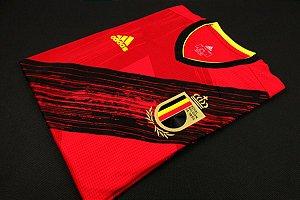 Camisa Bélgica 2020-21 (Home-Uniforme 1) - Modelo Jogador