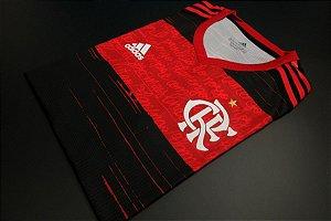 Camisa Flamengo 2020-21 (Home-Uniforme 1) - Modelo Jogador (sem patrocínios)