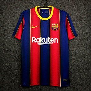 Camisa Barcelona 2020-21 (Home-Uniforme 1) - Modelo Torcedor