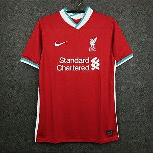 Camisa Liverpool 2020-21 (Home-Uniforme 1) - Modelo Torcedor