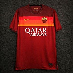 Camisa Roma 2020-21 (Home-Uniforme 1) - Modelo Torcedor