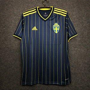 Camisa Suécia 2020-21 (Away-Uniforme 2) - Modelo Torcedor