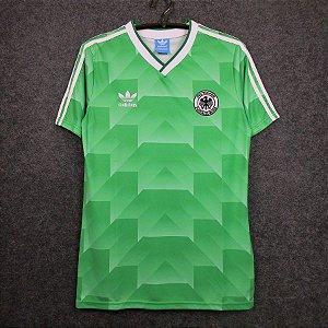 Camisa Alemanha 1990 Copa do Mundo (Away-Uniforme 2)