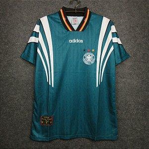 Camisa Alemanha 1996 Eurocopa (Away-Uniforme 2)