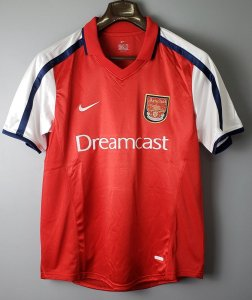 Camisa Arsenal 2000-2001 (Home-Uniforme 1)