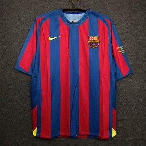 Camisa Barcelona 2005-2006 (Home-Uniforme 1) - Final Champions League