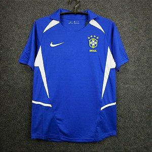 Camisa Brasil Copa do Mundo 2002  (Away-Uniforme 2)