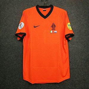 Camisa Holanda 2000 (Home-Uniforme 1) - Eurocopa