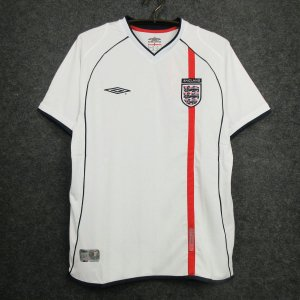 Camisa Inglaterra  2002 (Home-Uniforme 1) - Copa do Mundo