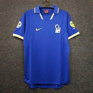 Camisa Itália 1996 (Home-Uniforme 1)  - Eurocopa