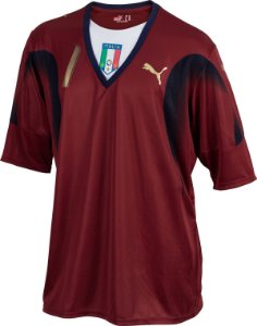 "Camisa Itália ""GOLEIRO""  2006 (Away-Uniforme 2)  - Copa do Mundo"