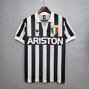 Camisa Juventus 1984-1985 (Home-Uniforme 1)