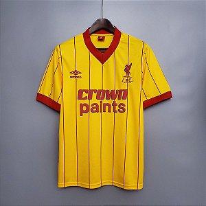 Camisa Liverpool 1981-1984 (Away-Uniforme 2)