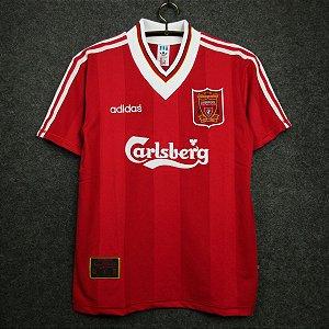 Camisa Liverpool 1995-1996 (Home-Uniforme 1)