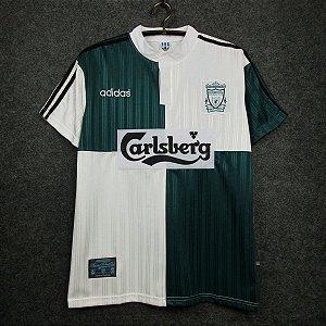 Camisa Liverpool 1995-1996 (Away-Uniforme 2)