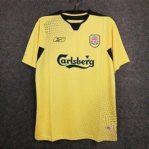 Camisa Liverpool 2004-2005 (Away-Uniforme 2)