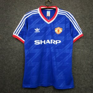 Camisa Manchester United 1986-1987 (Third-Uniforme 3)