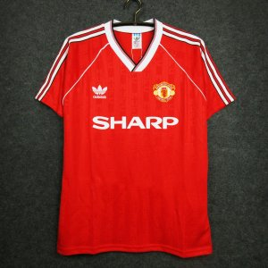 Camisa Manchester United 1988-1990 (Home-Uniforme 1)
