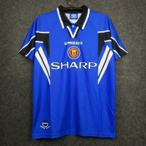 Camisa Manchester United 1996-1997 (Third-Uniforme 3)