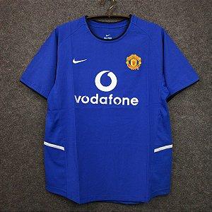 Camisa Manchester United 2002-2003 (Third-Uniforme 3)