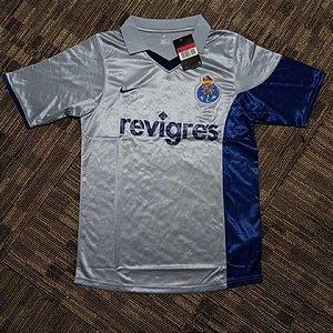 Camisa Porto 2001-2002 (Away-Uniforme 2)