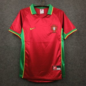 Camisa Portugal 1998 (Home-Uniforme 1)