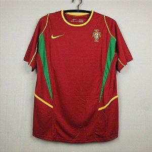 Camisa Portugal 2002 (Home-Uniforme 1) - Copa do Mundo