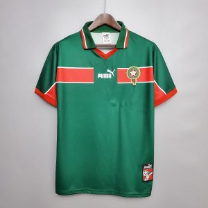 Camisa Marrocos 1998 (Home-Uniforme 1)  - Copa do Mundo