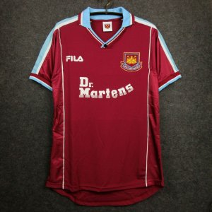 Camisa West Ham  1999-2001 (Home-Uniforme 1)