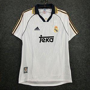 Camisa Real Madrid 1998-2000 (Home-Uniforme 1)