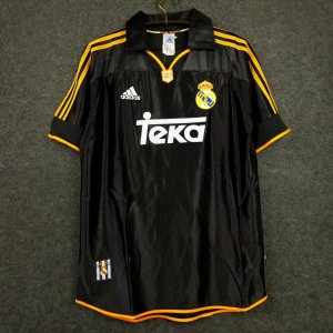 Camisa Real Madrid 1999-2000 (Away-Uniforme 2)