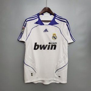 Camisa Real Madrid 2007-2008 (Home-Uniforme 1)