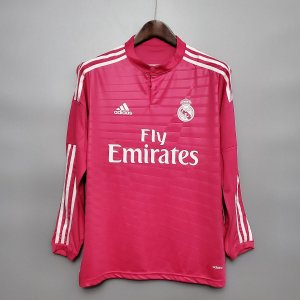 Camisa Real Madrid 2014-2015 (Away-Uniforme 2) - Manga Longa