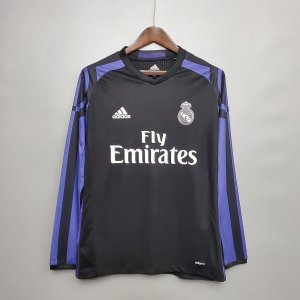 Camisa Real Madrid 2016-2017 (Third-Uniforme 3) - Manga Longa