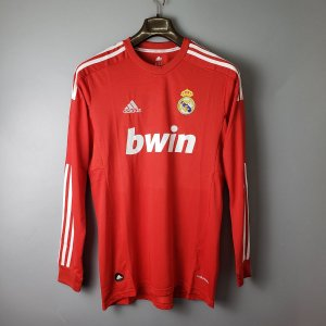 Camisa Real Madrid 2011-2012 (Third-Uniforme 3) - Manga Longa