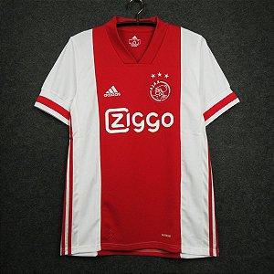 Camisa Ajax 2020-21 (Home-Uniforme 1) - Modelo Torcedor
