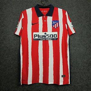 Camisa Atlético de Madrid 2020-21 (Home-Uniforme 1) - Modelo Torcedor