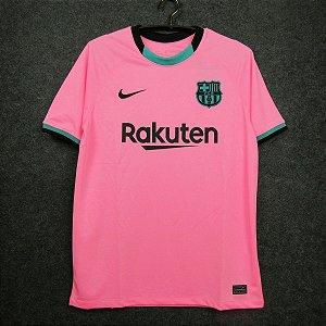 Camisa Barcelona 2020-21 (Third-Uniforme 3) - Modelo Torcedor