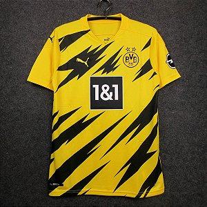 Camisa Borussia Dortmund 2020-21 (Home-Uniforme 1) - Modelo Torcedor