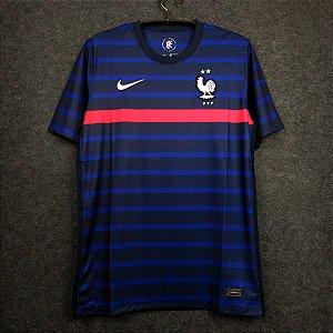 Camisa França 2020-21 (Home-Uniforme 1) - Modelo Torcedor