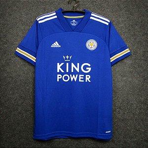 Camisa Leicester City 2020-21 (Home-Uniforme 1)