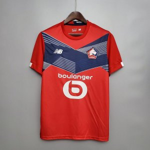 Camisa Lille 2020-21 (Home-Uniforme 1) - Modelo Torcedor