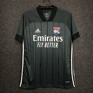 Camisa Lyon 2020-21 (Away-Uniforme 2) - Modelo Torcedor