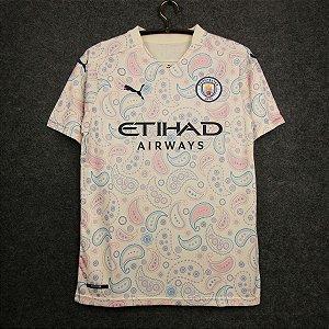 Camisa Manchester City 2020-21 (Third-Uniforme 3) - Modelo Torcedor