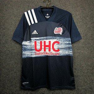Camisa New England Revolution 2020-21 (Home-Uniforme 1) - Modelo Torcedor