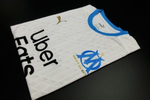 Camisa Olympique Marseille 2020-21 (Home-Uniforme 1) - Modelo Jogador