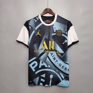 "Camisa Paris Saint Germain ""PSG"" 2020-21 (treino 2)"