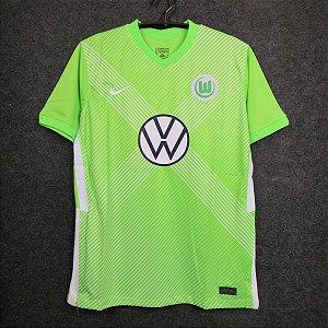 Camisa Wolfsburg 2020-21 (Home-Uniforme 1)