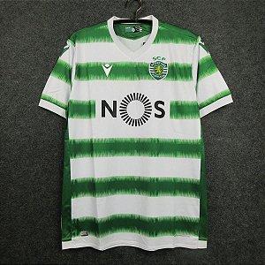 Camisa Sporting 2020-21 (Home-Uniforme 1) - Modelo Torcedor