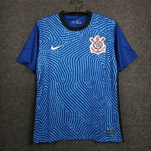 Camisa Corinthians 2020-21 (goleiro-azul)